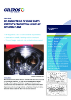 Re-Engineering of Pump Parts Prevents Production Losses at Bitumen Plant
