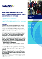 OEM Quality Management On Fast-Track Pump Repair Prevents Power Station Outage