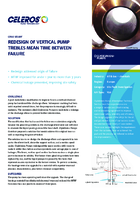 Redesign Of Vertical Pump Trebles Mean Time Between Failure